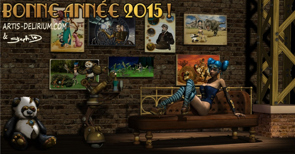 pinup new year 2015