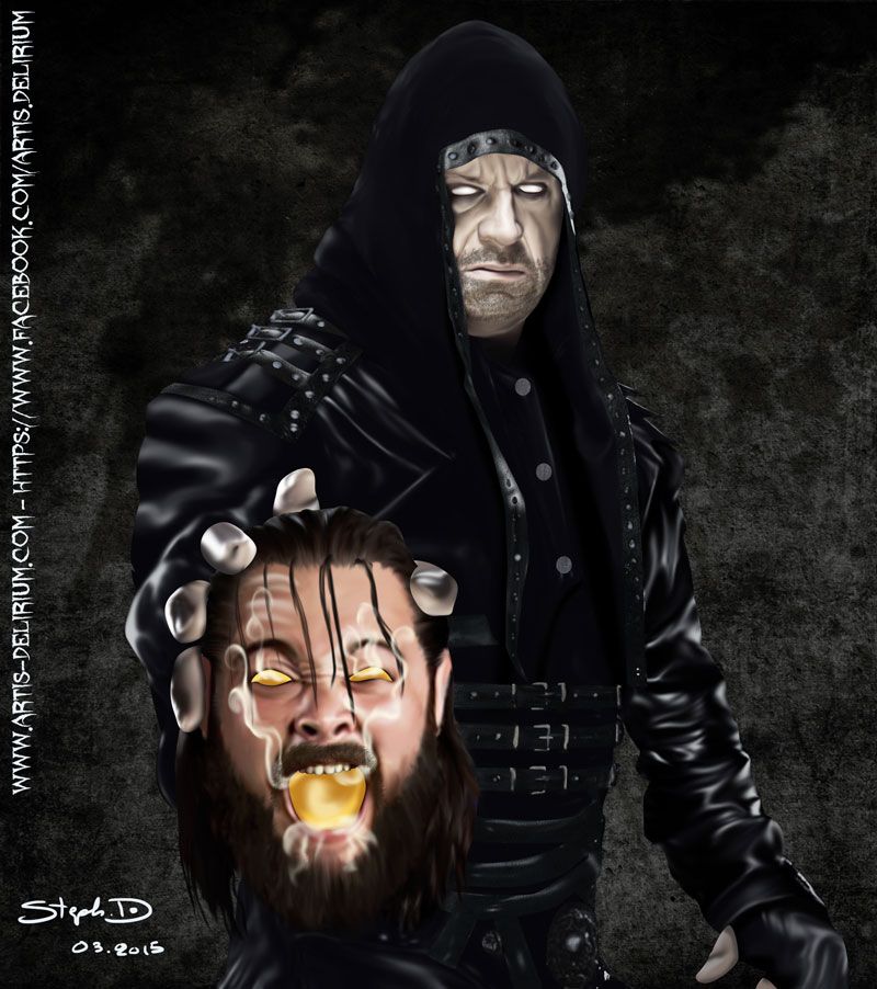 Undertaker vs Bray Wyatt